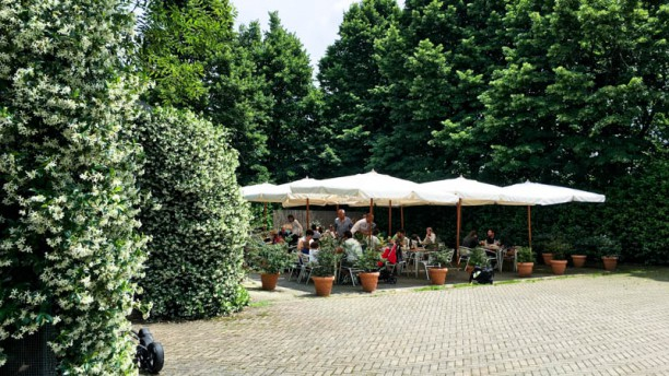 Agriturismo Buena Vista I tavoli in giardino