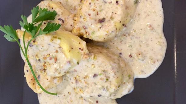 Café Bistrot Tortelli in crema di pistacchio