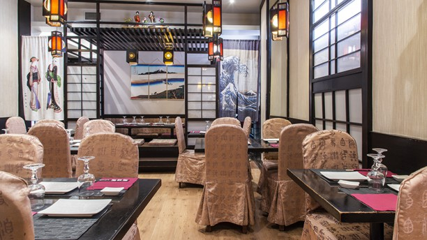 Take Sushi Vista sala