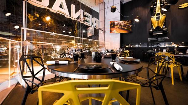 Le 53 restaurant - Atelier Renault Vue de la salle