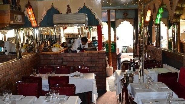 Villa Punjab Salle du restaurant