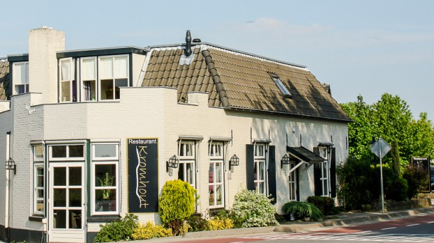 Restaurant Kromhout restaurant aanzicht