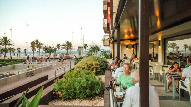 La Pizzería Vista terraza