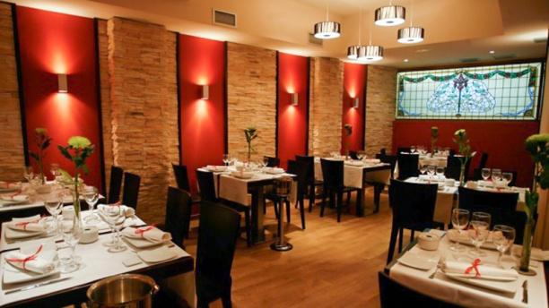 Apolo Café & Restaurante Vista sala