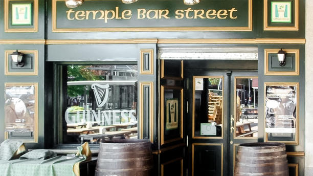 Temple Bar Street Entrada