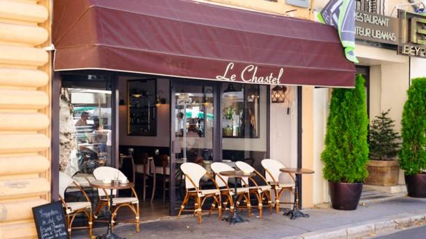 Le Chastel Façade du restaurant