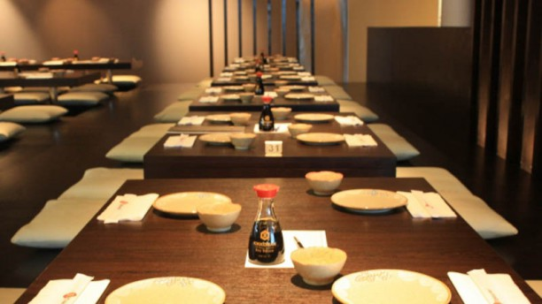 Takumi restaurantzaal