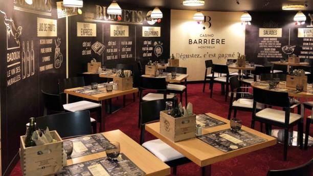 Casino Montreux - L'Entracte Salle du restaurant
