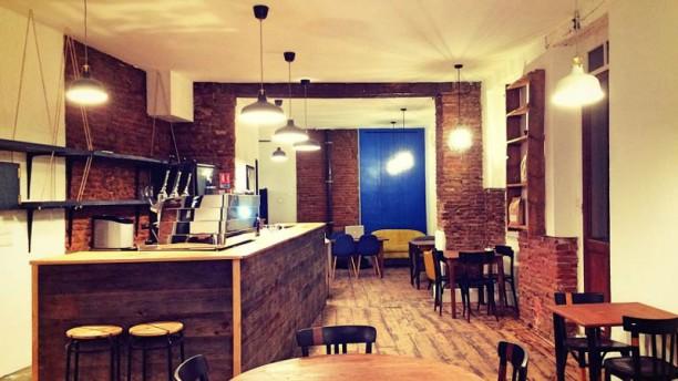 Racine Café Vue de la salle