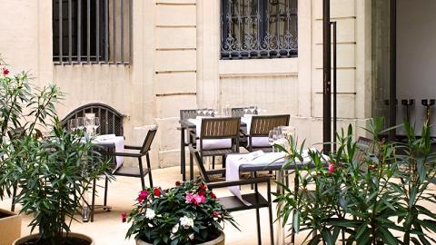 restaurant - Les Vignes - Montpellier