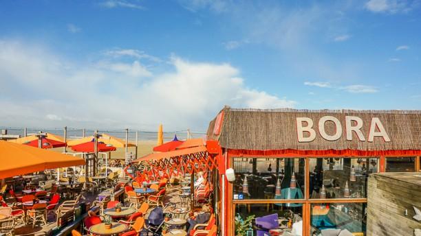 Strandpaviljoen Bora Bora terras