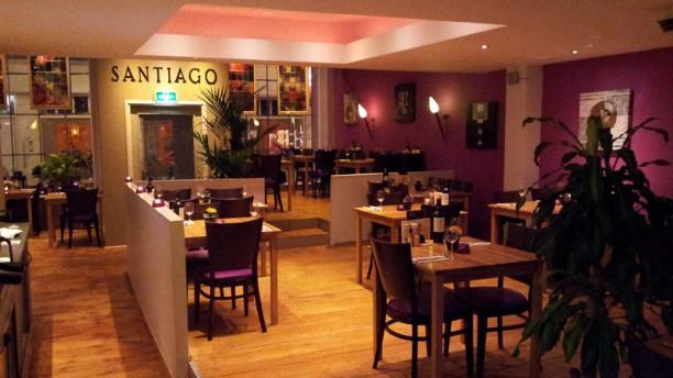 Toros Santiago Restaurantzaal