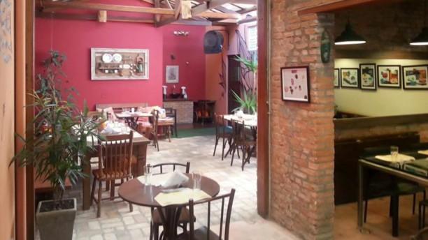 Horta Café e Bistrô vista da sala