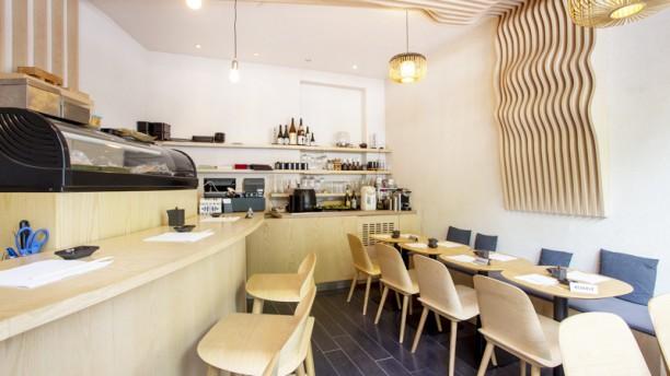 Le Bar à Sushi Izumi Vue de la salle