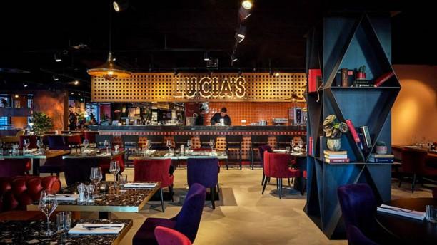 Lucias Restaurant Lucias Restaurant - Chefs in action