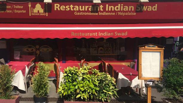 Indianswad Vue de la terrasse