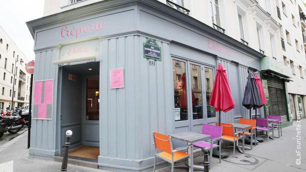 Crêperie L'Arthème Crêperie L'Arthème Paris 14ème arrondissement