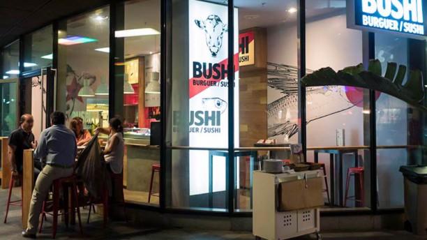 Bushi Burguer Vista terraza