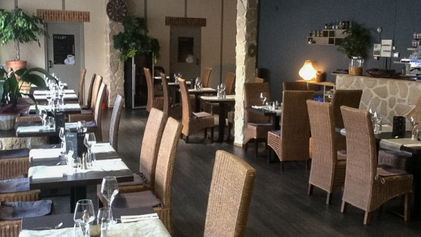 La Paillote - Fourmies Salle du restaurant