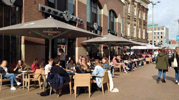 News Cafe Groningen terras