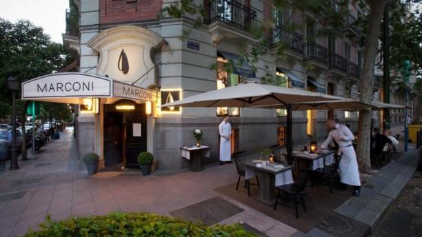Restaurante marconi vel zquez en madrid lista barrio for Terrazas nocturnas madrid