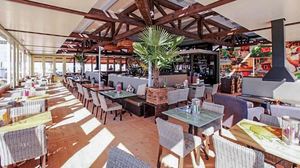 Beachclub Copacabana Het restaurant