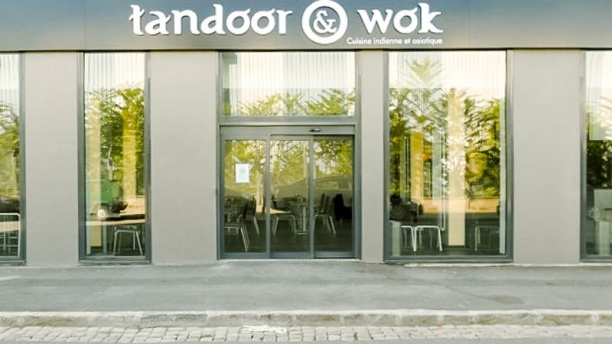 Tandoor and Wok Façade