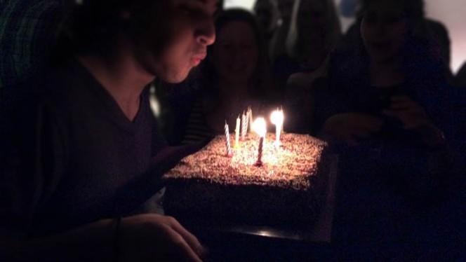 gâteau d'anniversaire - Tropicalia Bistrot Culturel Brésilien, Paris