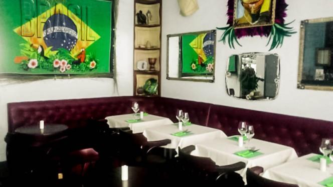 salle - Tropicalia Bistrot Culturel Brésilien, Paris