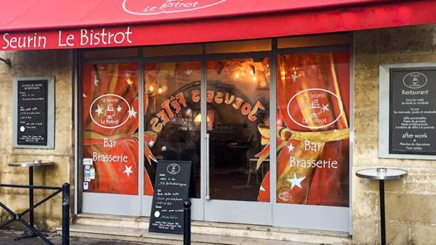 Saint-Seurin - Le Bistrot Façade du restaurant