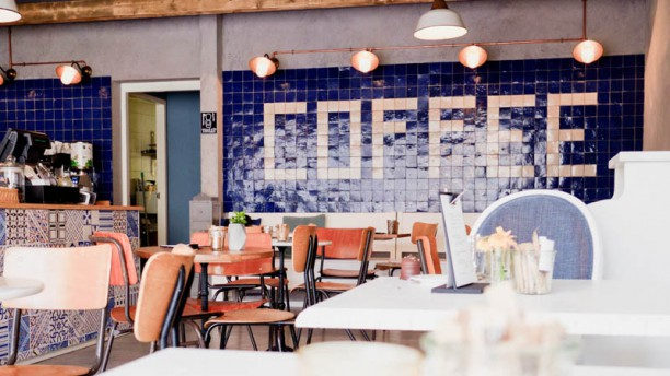 Y.A.M Lunch, Koffie & More Het restaurant