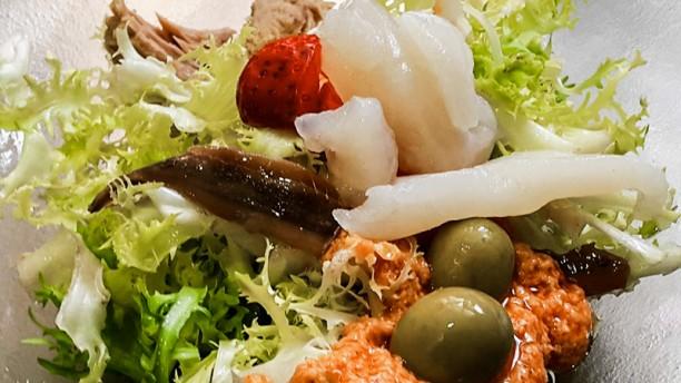 Restaurant Bec d'Or Ensalada