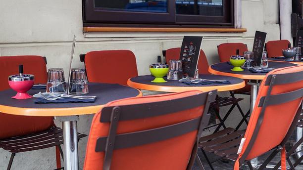 Romantica Caffé - Madeleine terrasse