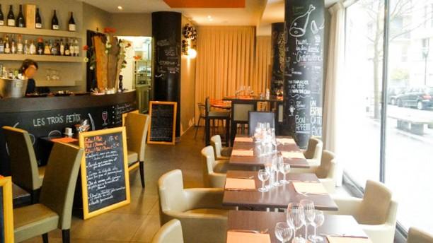 Les Trois Petits In Boulogne Billancourt Restaurant Reviews Menu