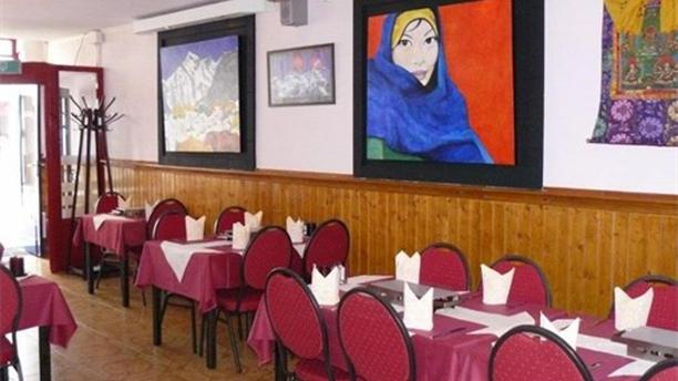 Everest Tandoori Restaurant Het restaurant