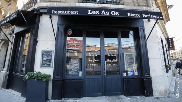 Les As Os Bienvenue au restaurant Les As Os