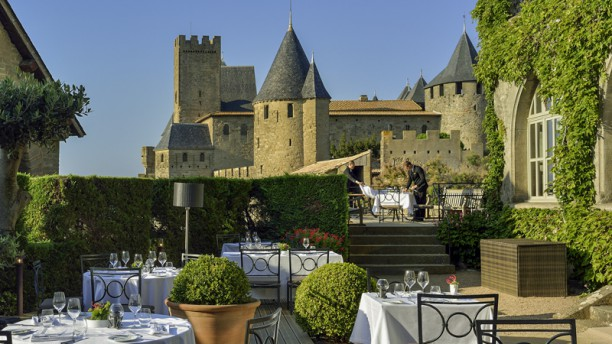 Restaurant La Barbacane Terrasse