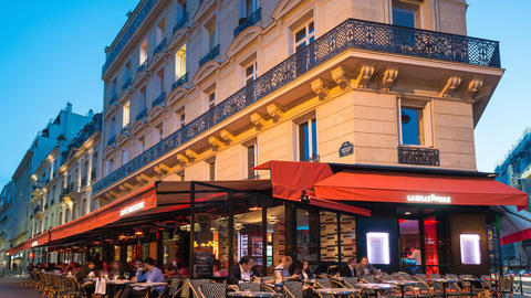 Café La Belle Poule, Paris