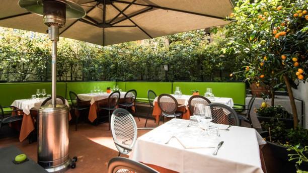 Da Romolo alla mole Adriana Terrazza e giardino