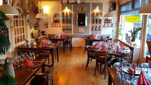 Brasserie Het Vrolijke Schaap Het restaurant