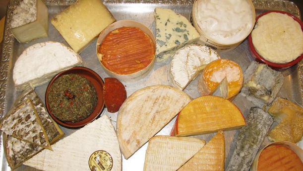 Le Saint-Amour Plateau de fromages