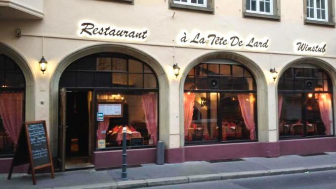 Entrée - À la Tête de Lard, Strasbourg