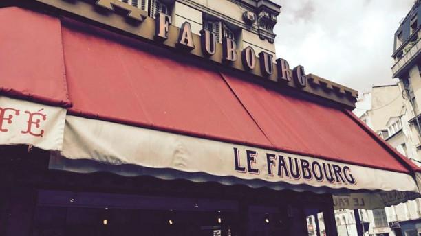 Le Faubourg Café Devanture