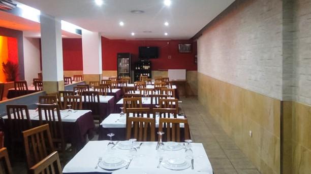 Cozinha da Velha Sala do restaurante