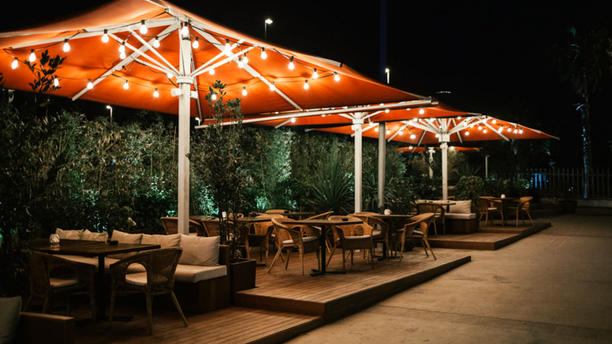 Maná 75 - paella restaurant Barcelona Terraza