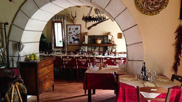 Pizzeria Osteria Al Tripiciano Vista sala