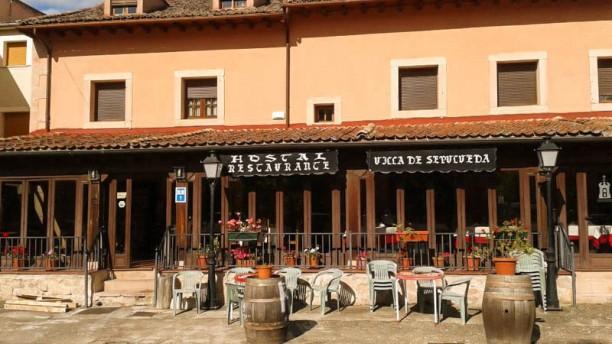 Villa de Sepúlveda - Hostal Restaurante La fachada