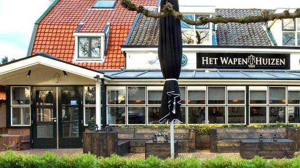 Restaurant Dickens Huizen : Het wapen van huizen in huizen menu openingstijden prijzen