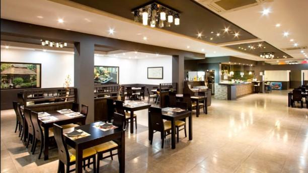 Sake Sushi Vista del interior