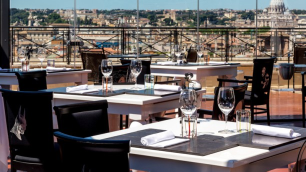 The Flair Rooftop Restaurant In Rome Restaurant Reviews
